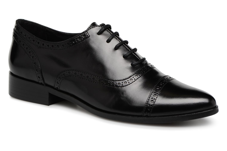 Zapatos de mujer baratos zapatos de mujer Georgia Rose Taperfo (Negro) - Zapatos con cordones en Más cómodo
