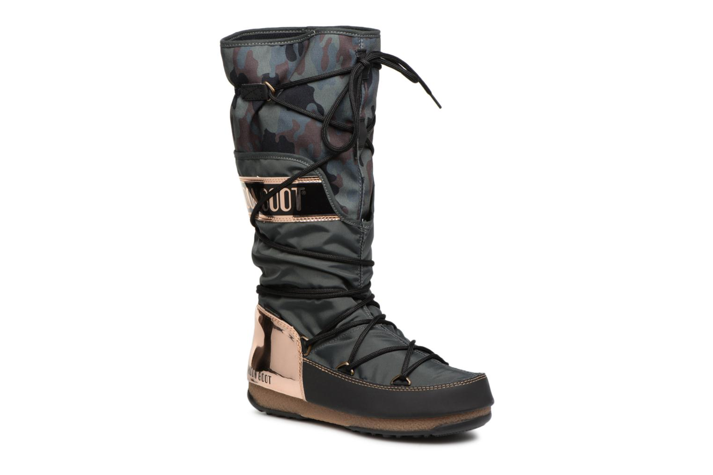 Moon Boot anversa camu (Vert) - Chaussures de sport chez Sarenza (330641)