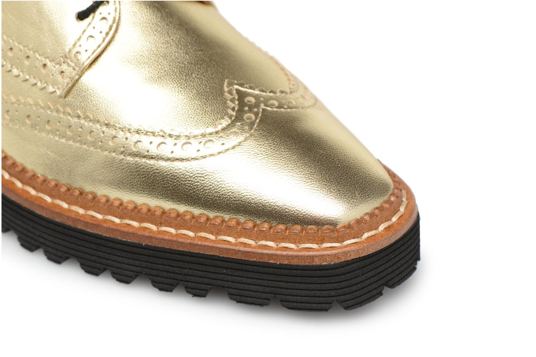 métalisé SARENZA 1 Girl Doré à Toudra by Chaussures Lacets Cuir Made a5wxRzqCU