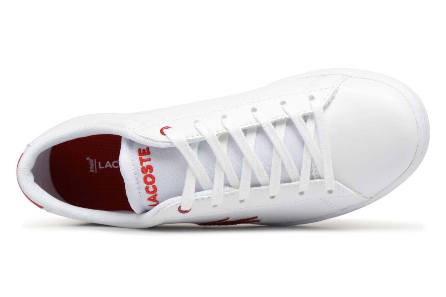 Carnaby Lacoste red 1 SPJ 318 Evo White HwpqPgaw