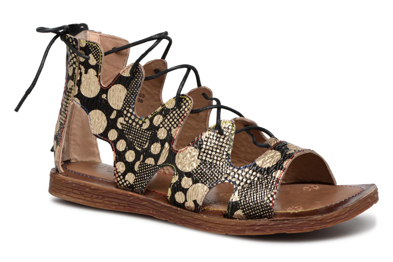 Grandes descuentos últimos zapatos Laura Vita BROWNIE 03 (Negro) - Sandalias Descuento