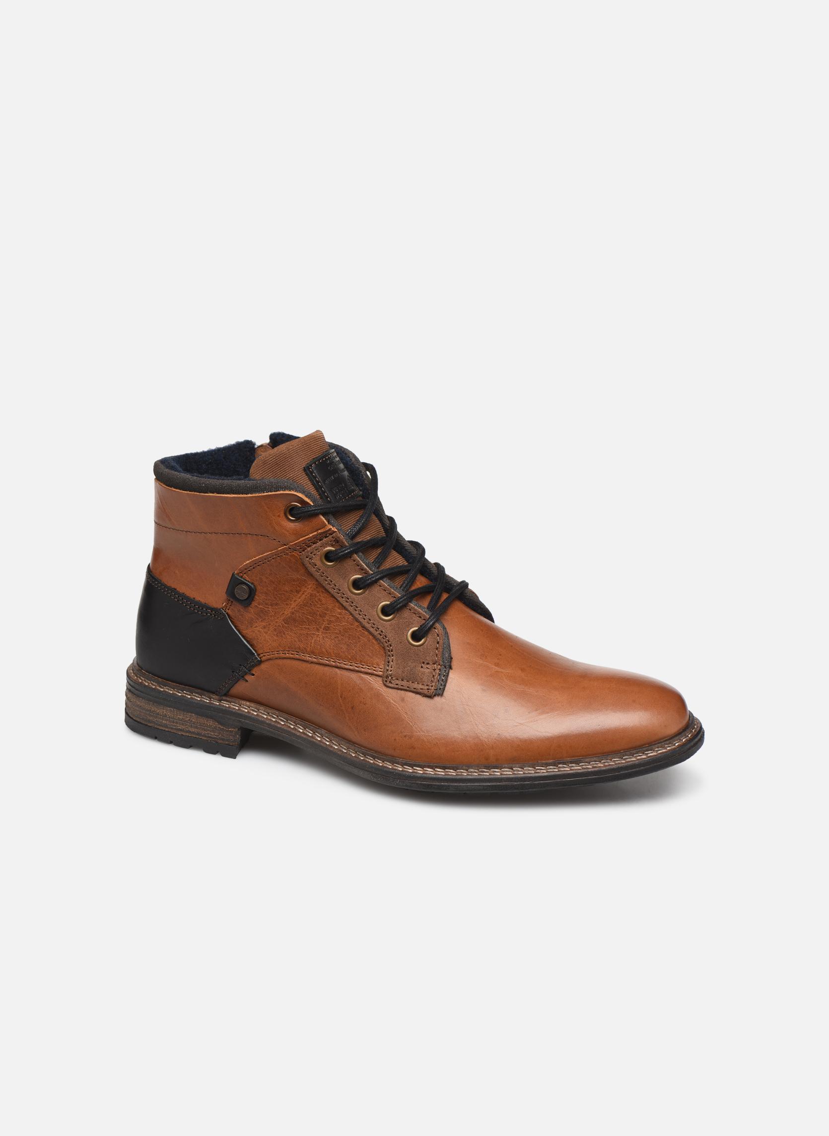 Bullboxer 870K56088A (Noir) - Bottines et boots chez Sarenza (333200)