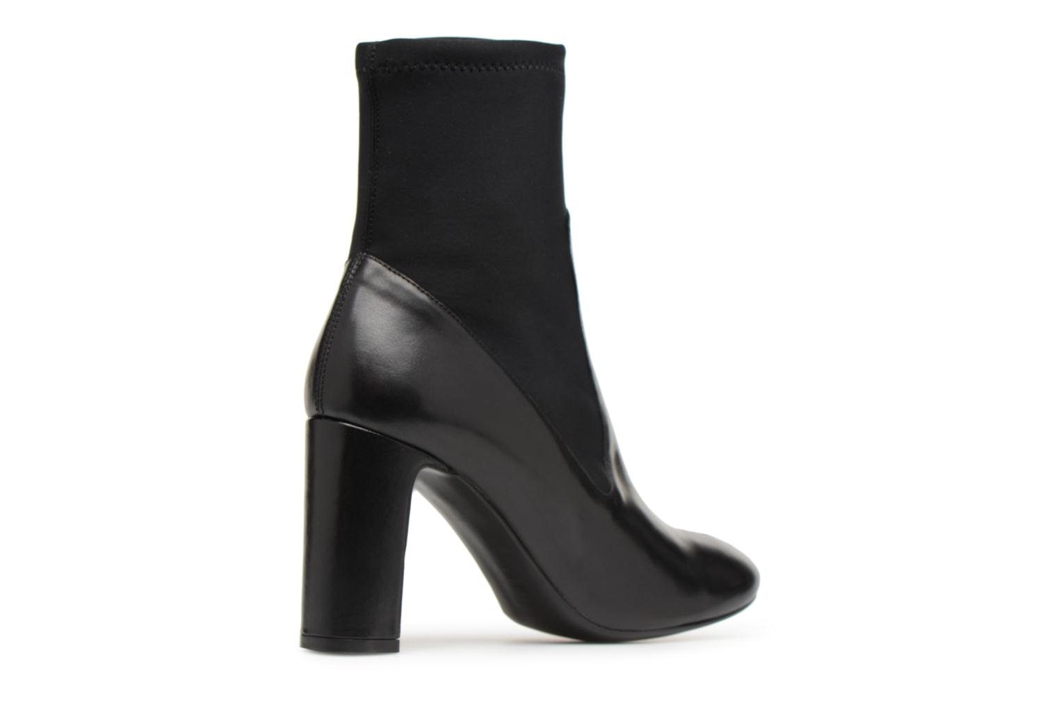 Made by Cuir Néoprenne lisse à Busy Noir SARENZA Girl Bottines Noir 9 Talons TTFq6r