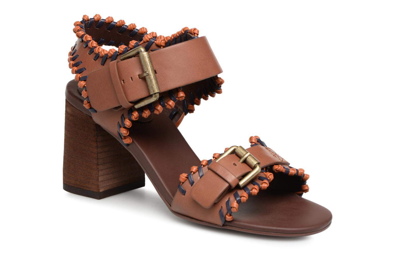 ad3efd5b5a1 Zapatos promocionales See by Chloé Romy High Heel (Marrón) - Sandalias  Casual salvaje