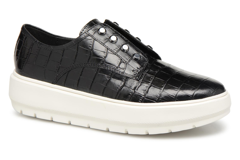 Grandes descuentos últimos zapatos Geox D KAULA C D84ANC (Negro) - Deportivas Descuento