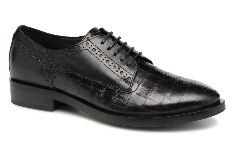 Últimos recortes de precios Geox D DONNA BROGUE B D842UB (Negro) - Zapatos con cordones chez Sarenza