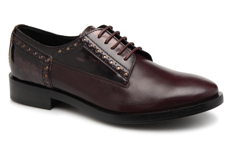 Grandes descuentos últimos zapatos Geox D DONNA BROGUE B D842UB (Vino) - Zapatos con cordones en Más cómodo