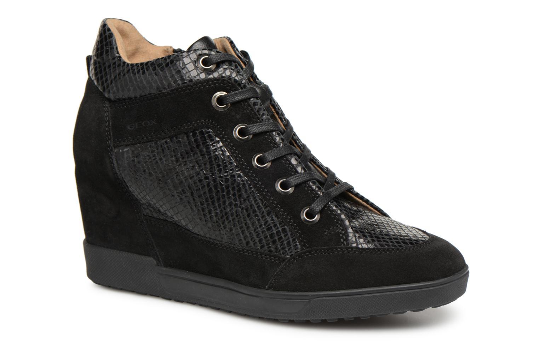 Los zapatos más populares para hombres y mujeres Geox D CARUM C D84ASC (Negro) - Deportivas en Más cómodo