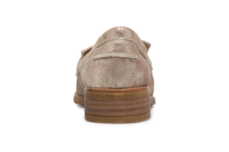 d76b63f7 ... Zapatos promocionales Aldo CAPRONI (Oro y bronce) - Mocasines Cómodo y  bien parecido ...