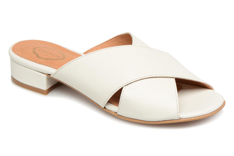 Grandes descuentos últimos zapatos Apologie AZAHAR (Blanco) - Zuecos Descuento