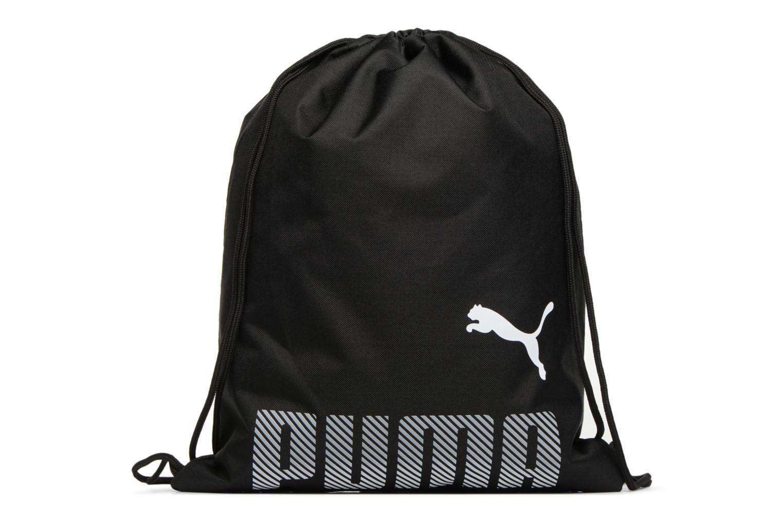 Sporttassen Puma PLUS GYM SACK Zwart detail