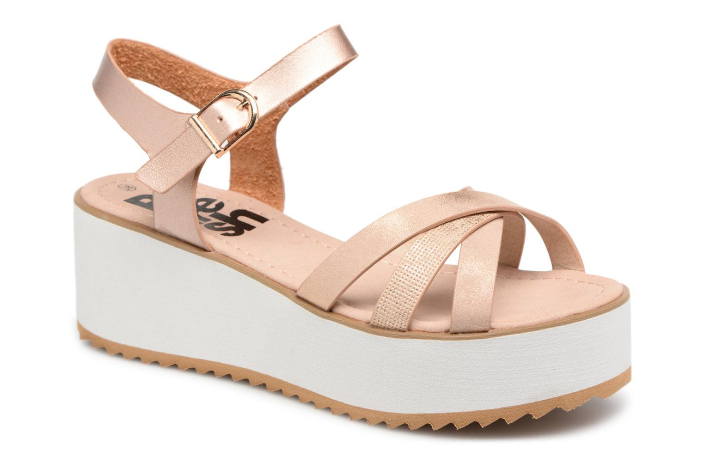 64099 - Sandales Pour Femmes / Rafraîchissement Argent Y4C1q90
