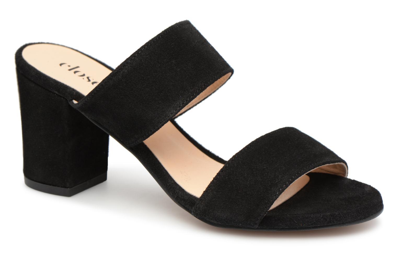 Grandes descuentos últimos zapatos Close THELMA (Negro) - Zuecos Descuento