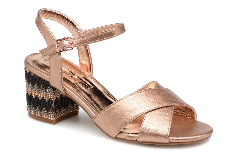 Xti 30704 (Or et bronze) - Sandales et nu-pieds chez Sarenza (337952)