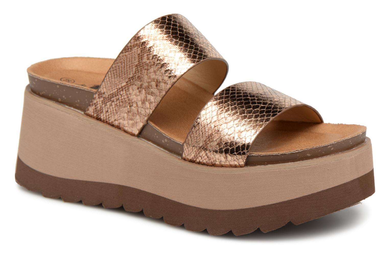Zapatos promocionales Xti 48060 (Oro y bronce) - Zuecos Zapatos casuales  salvajes 20bba9884583