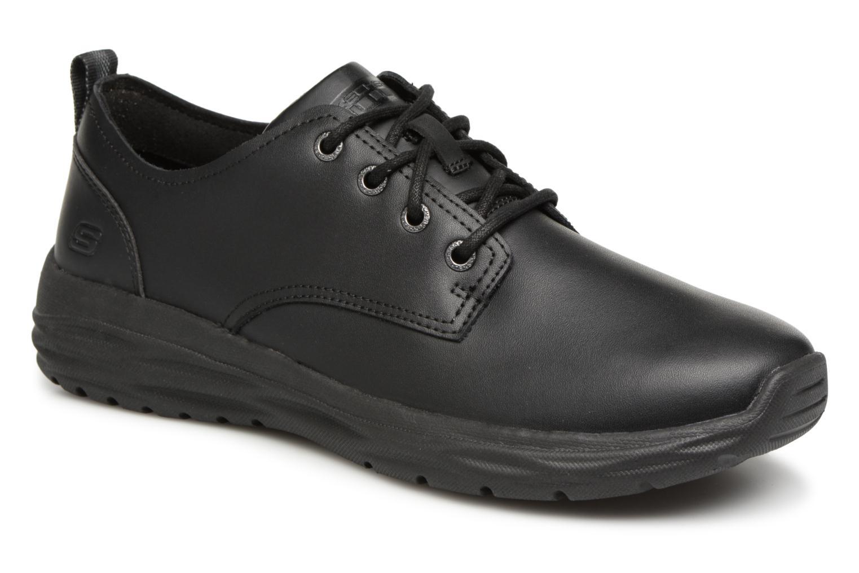 Casual salvaje Skechers Harsen Artson (Negro) - Zapatos con cordones en Más cómodo