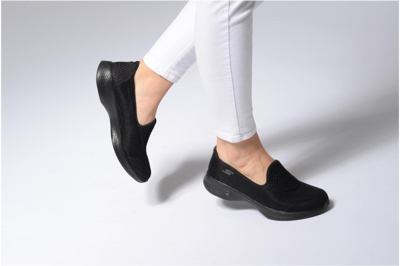 Zapatos de hombre y mujer de promoción por tiempo limitado Skechers Go Walk 4 Propel (Negro) - Deportivas en Más cómodo