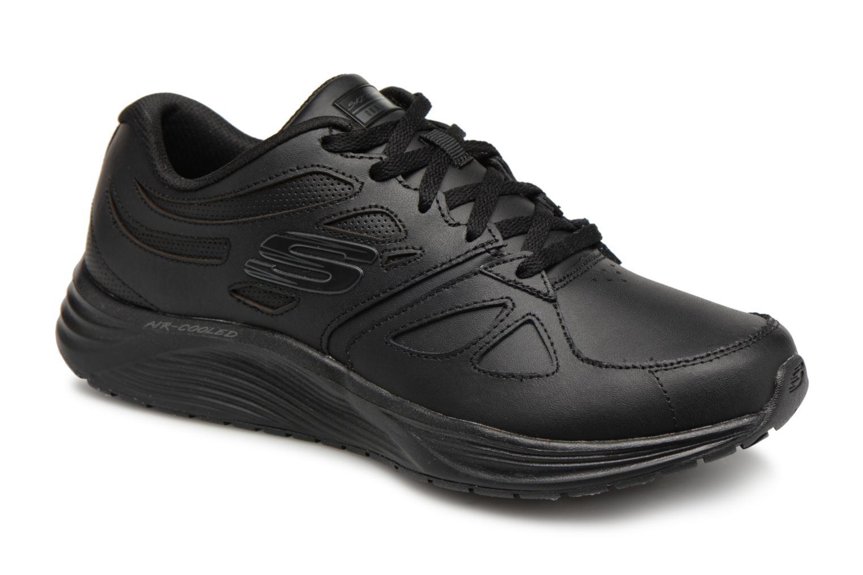 Zapatos de hombres y mujeres de moda casual Skechers Skyline (Negro) - Zapatillas de deporte en Más cómodo