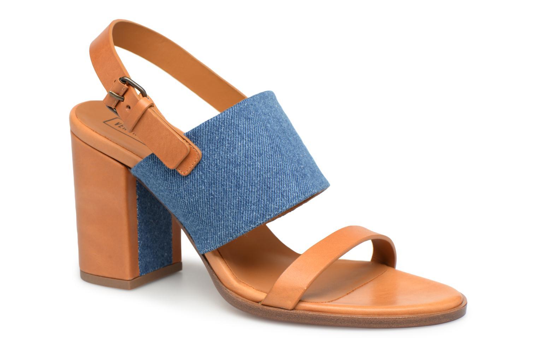 Grandes descuentos últimos zapatos Veronique Branquinho Sandale à talon bold denim (Marrón) - Sandalias Descuento