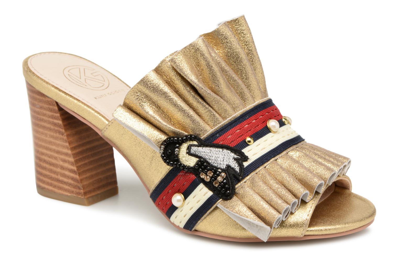 ZapatosKG By Kurt Geiger MISTRESS (Oro y bronce) - Zuecos bien   Cómodo y bien Zuecos parecido 07efc6
