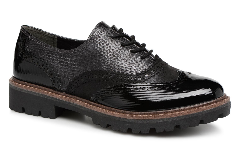 Zapatos casuales salvajes Marco Tozzi ARION (Negro) - Zapatos con cordones en Más cómodo