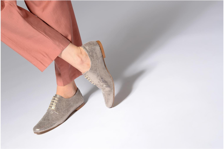 Los últimos zapatos de hombre y mujer Elizabeth Stuart ISSIO 415 (Plateado) - Zapatos con cordones en Más cómodo