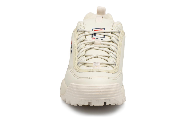 Sneaker FILA Disruptor Beige beige schuhe getragen