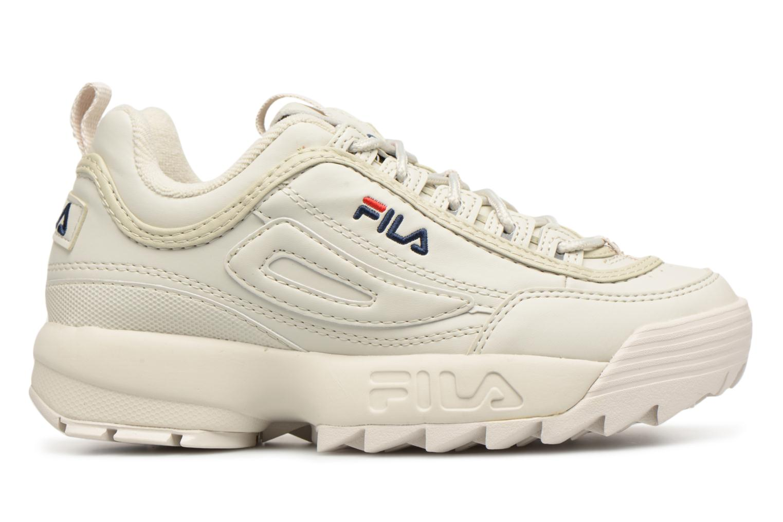 Sneaker FILA Disruptor Beige beige ansicht von hinten