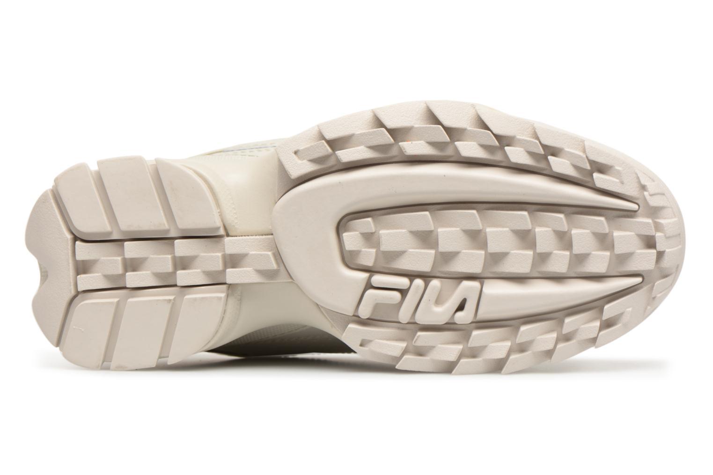 Sneaker FILA Disruptor Beige beige ansicht von oben