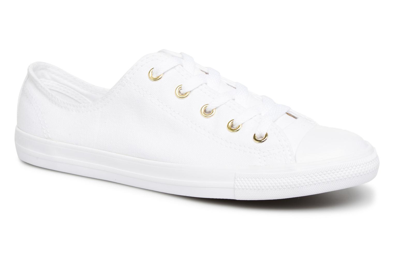 Zapatos de mujer baratos zapatos de mujer Converse Chuck Taylor Dainty Ox (Blanco) - Deportivas en Más cómodo