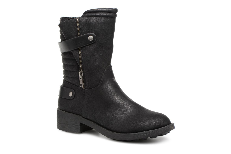 Venta de liquidación de temporada Vanessa Wu Biker Boots Noires (Negro) - Botines  en Más cómodo