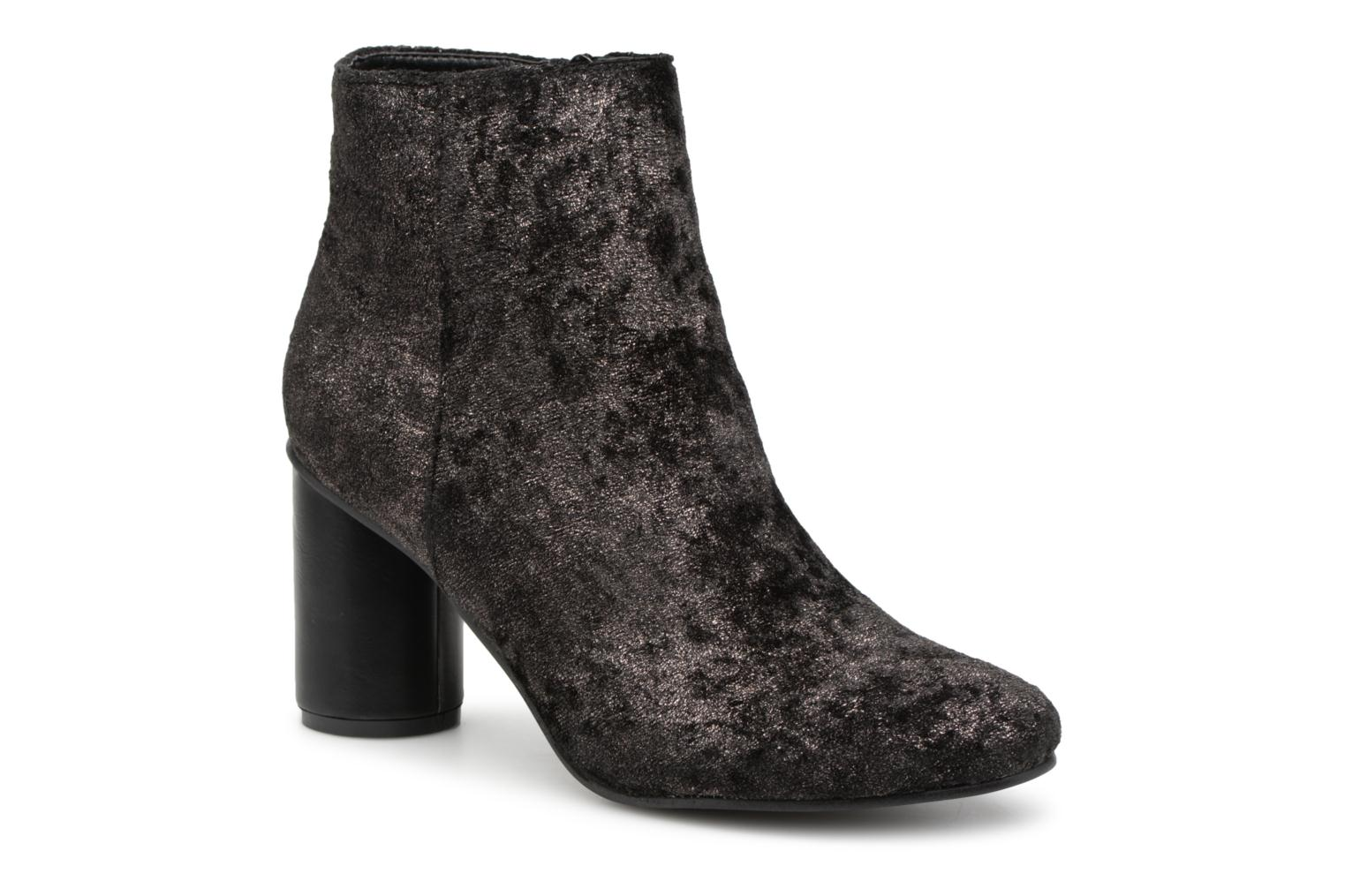 Vanessa Wu Bottines Anthracite (Gris) - Bottines et boots chez Sarenza (340610)