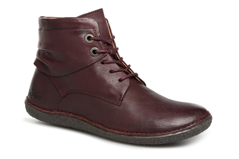 Grandes descuentos últimos zapatos Kickers HOBYLOW NEW (Vino) - Botines  Descuento