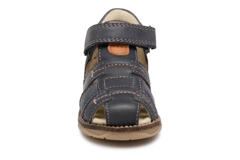 Sandales et nu-pieds Noël MIHIT Gris vue portées chaussures