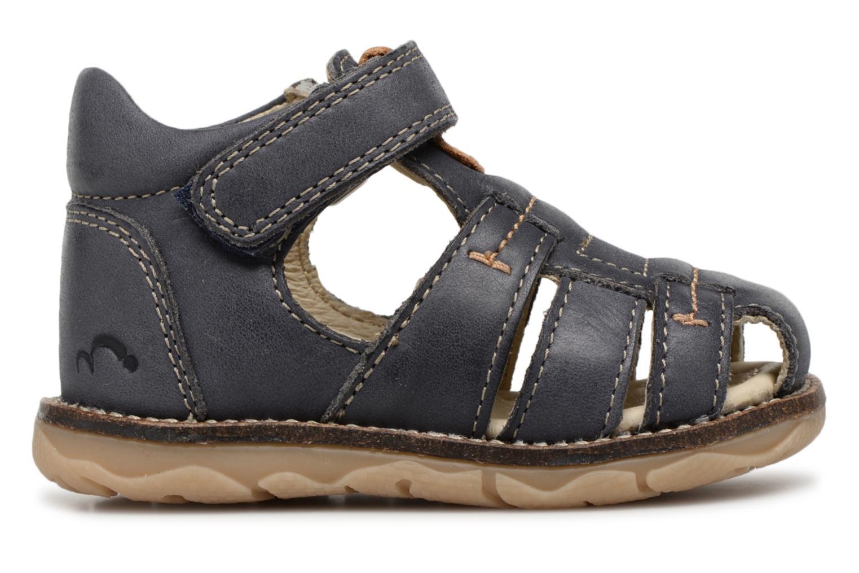 Sandales et nu-pieds Noël MIHIT Gris vue derrière