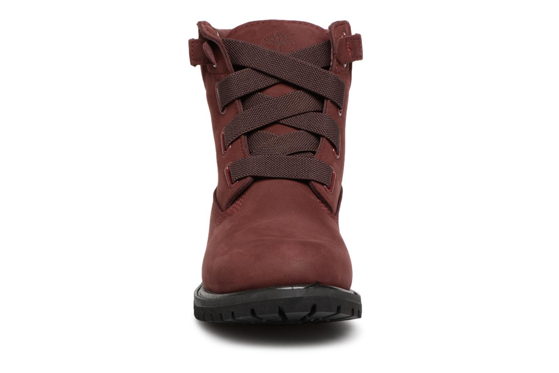 Bottines et boots Timberland 6in Premium Convenience Bordeaux vue portées chaussures