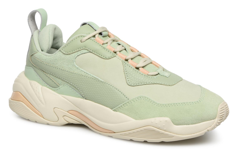 Zapatos especiales para hombres y mujeres Puma Wn Thunder Desert (Verde) - Deportivas en Más cómodo