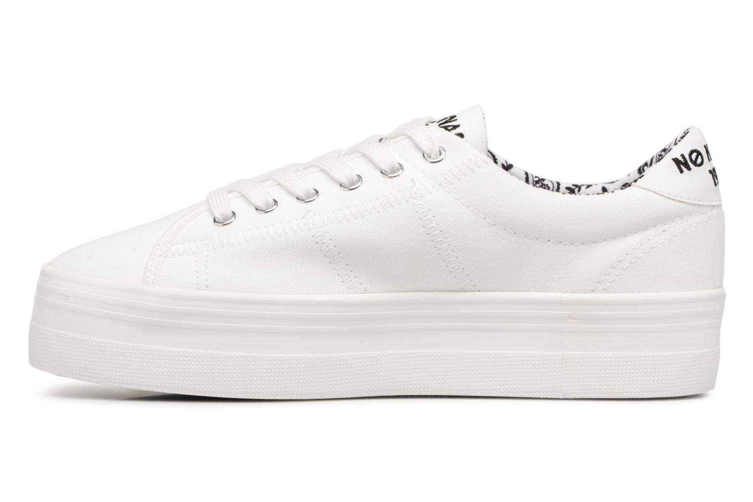 No Name PATCH PLATO SNEAKER TWILL White rrRwqOC4