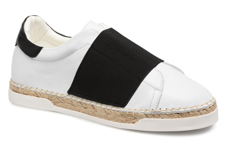 Marques Chaussure femme Canal St Martin femme LANCRY ELASTIQUE Elastique Noir