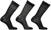 Socken & Strumpfhosen Accessoires Mi-Chaussette Coton Style Rayures mixtes Lot de 3