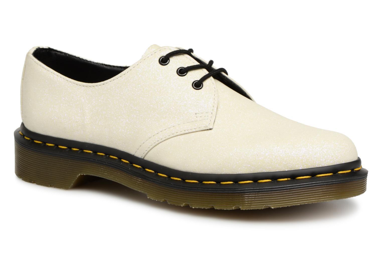 Zapatos promocionales DR. Martens 1461 F (Blanco) - Zapatos con cordones   Venta de liquidación de temporada