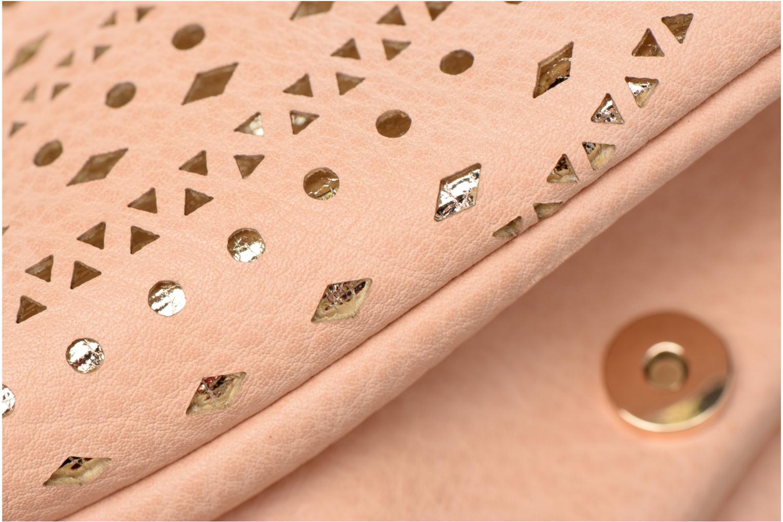 Handtaschen Street Level Perforated crossbody beige ansicht von links