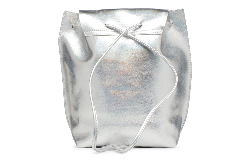 Rugzakken Street Level Slouch thin strap backpack Zilver voorkant
