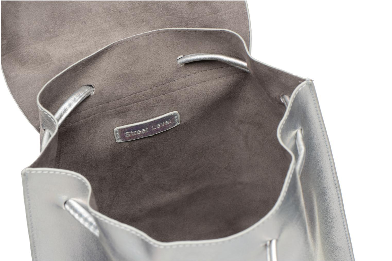Rugzakken Street Level Slouch thin strap backpack Zilver achterkant