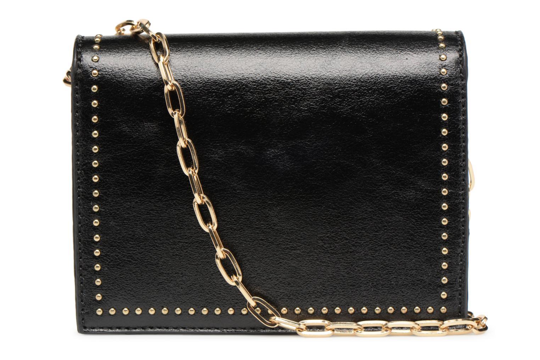 Handtaschen Street Level Mettalic chainstrap crossbody schwarz ansicht von vorne