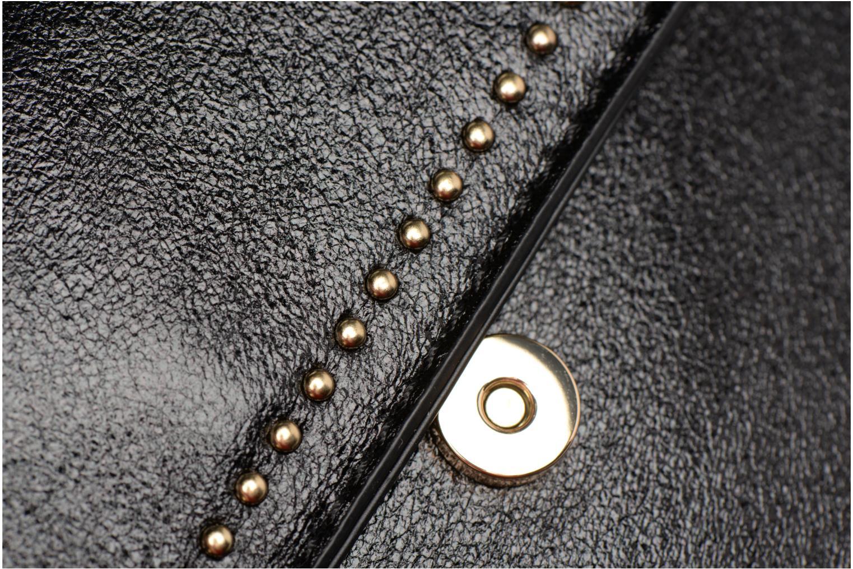 Handtaschen Street Level Mettalic chainstrap crossbody schwarz ansicht von links