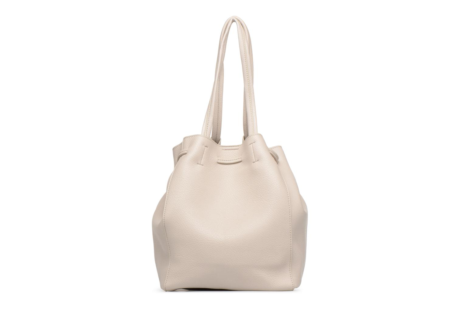 Sacs à main Street Level Tote with front tassel drawstring Gris vue face