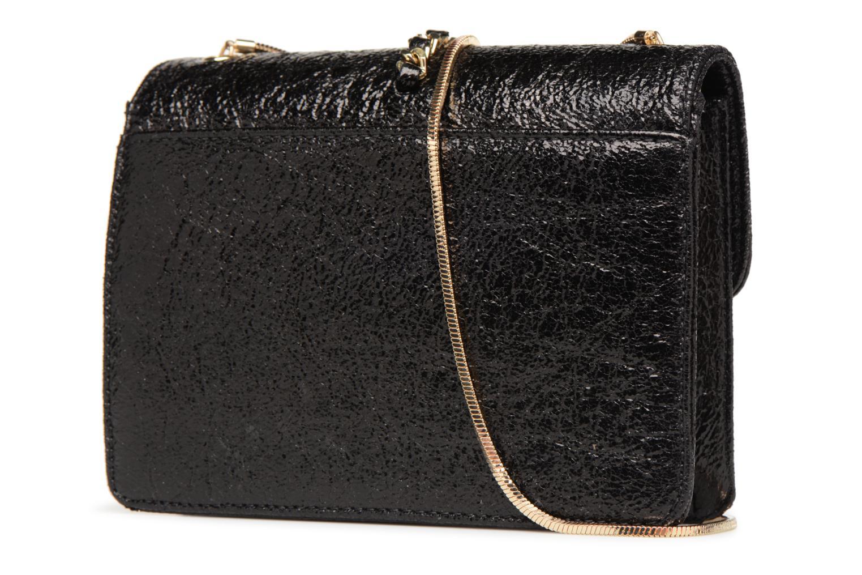 Handtaschen Street Level Shoulder bag w/chain and tassel detail schwarz ansicht von rechts