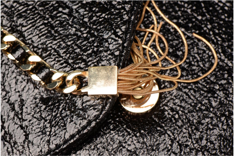 Handtassen Street Level Shoulder bag w/chain and tassel detail Zwart links