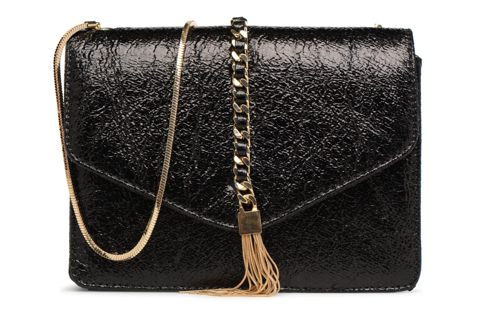 Sacs à main Street Level Shoulder bag w/chain and tassel detail Noir vue détail/paire